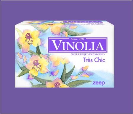Probeer Vinolia Zeep Tres Chic